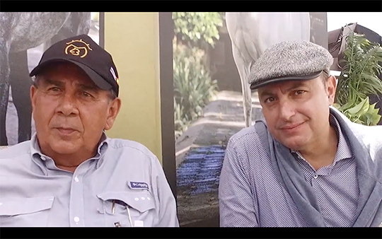 Entrevista a D. Manuel Borge y D. Pedro Pingarrón
